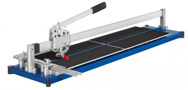 Fliesenschneider Kaufmann Topline 720mm Gesamtschnittlänge ROBUST-Ausführung mit Stahl-Grundplatte