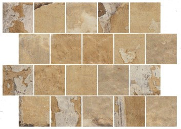 "Mosaik Fliese beige Vintage Retro ""CIR Havana Tropicana Spacco 30x40"""