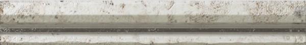 """Bordüre Abschlussleiste Antik-Optik orientalisch Vintage grau 3x20 """"Gatsby Aged Mold"""""""