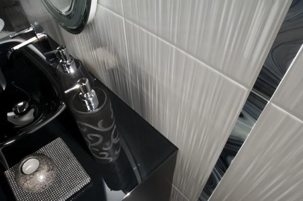 Wandfliesen Welle 3D weiß glänzend 30x60 bei Fliesenprofi kaufen