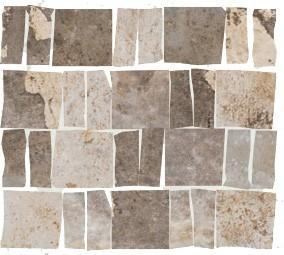 "Mosaik Fliese grau-beige Vintage Retro ""CIR Havana Malecon 30x30"""