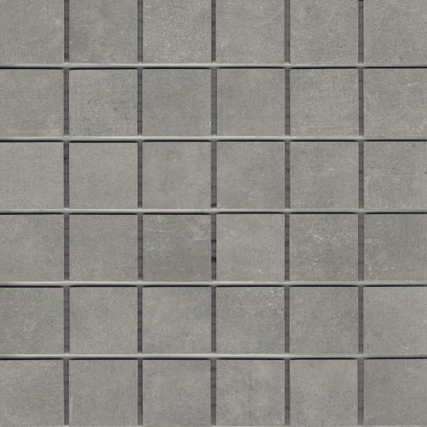 "Mosaik-Fliese Betonoptik grau 30x30 Feinsteinzeug ""Patch smoke"" bei Fliesen Profi kaufen"