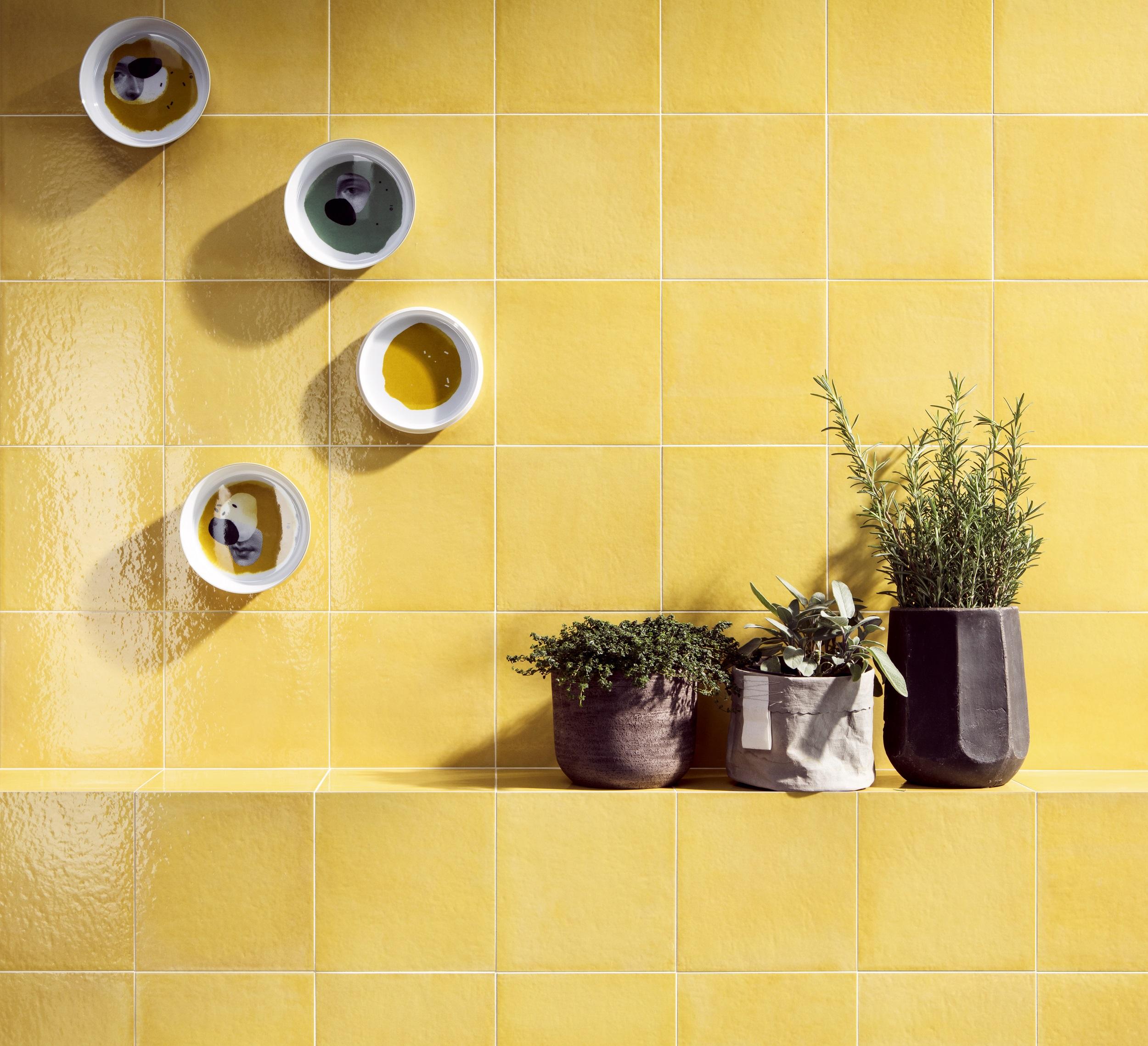 Gelbe Fliesen Kuche – Caseconrad