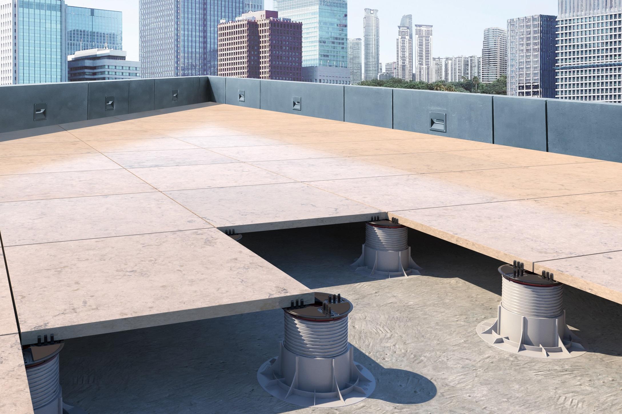 Stelzlager Terrassenplatten höhenverstellbar von 21 31mm