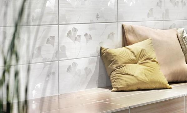 Fliese Lima Y-LIM1301 Ginkgo Dekor beige 20x50
