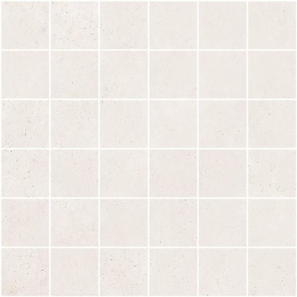 """Mosaik Fliese Betonoptik weiß-beige 30x30 """"Ritual Light Mosaik"""" Sant Agostino"""