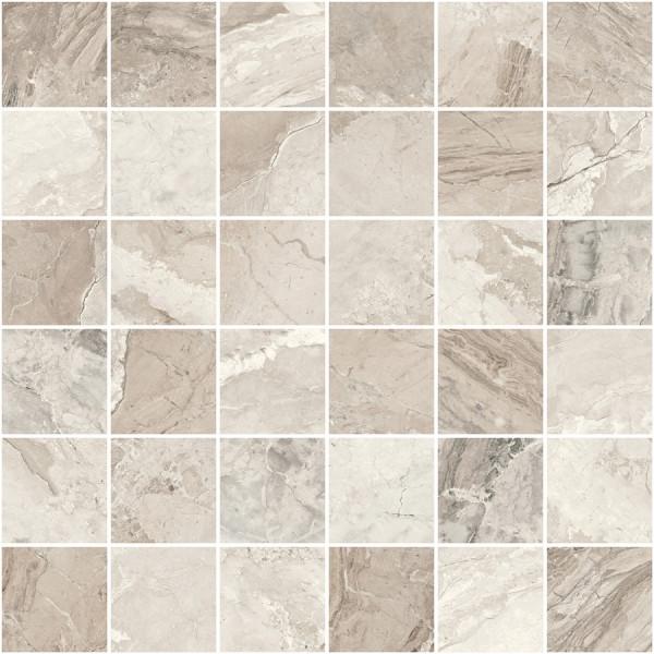 "Mosaik Marmor-Optik beige marmoriert matt 30x30cm ""Mystic"" Sant Agostino"