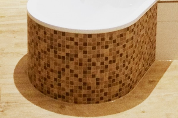 Mosaik Fliesen Holzoptik braun 30x30 bei Fliesenprofi kaufen