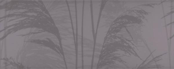 "Dekorfliese Schilf Dekor braun 40x50 2er-Set ""Reed schoko K-REE132"""
