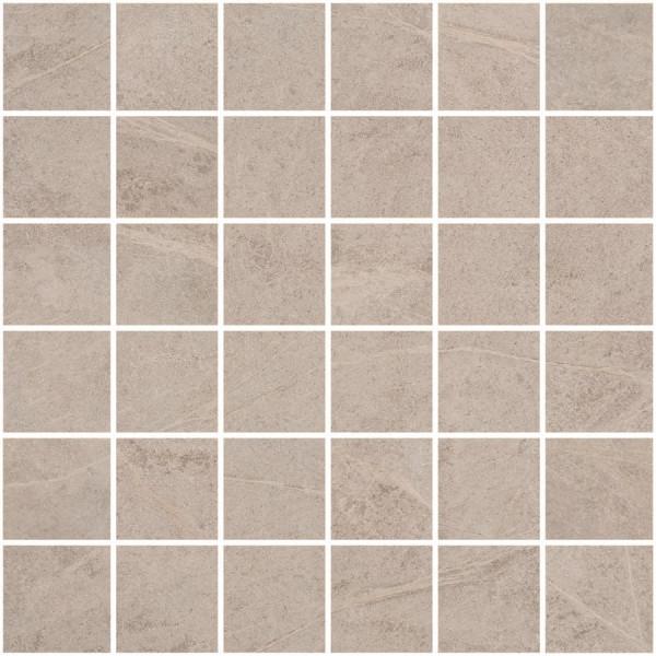 Mosaik Speckstein-Optik weiß matt Soap Stone White Cercom