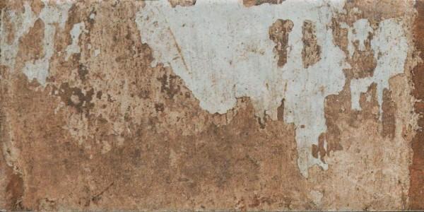 """Fliese Vintage Retro rot-braun """"Havana cohiba (Cotto)"""" CIR (Farbmischung nach Zufall)"""
