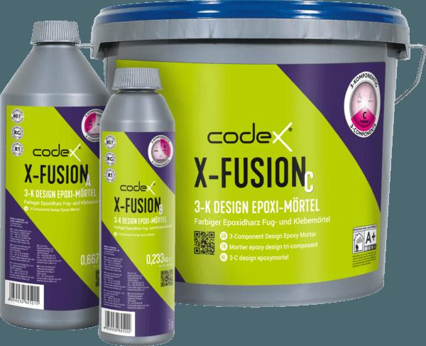 "Epoxifuge Epoxidharz-Mörtel 3-Komponenten 3,5kg ""Codex X-Fusion"""