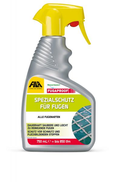 Fugenschutz Fugenimprägnierung von Fliesenfugen FILA Fugaproof 500ml