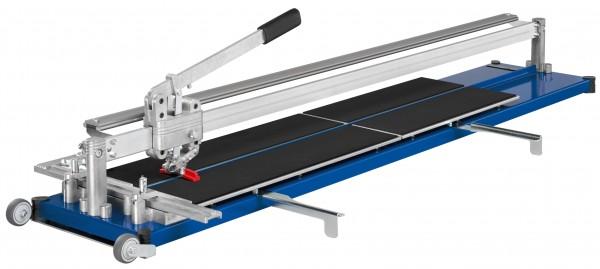 Fliesenschneider Kaufmann Topline 1250mm Gesamtschnittlänge ROBUST-Ausführung mit Stahl-Grundplatte
