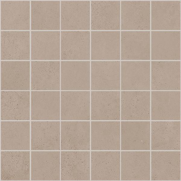 "Mosaik Fliese Betonoptik grau-beige 30x30 ""Ritual Greige Mosaik"" Sant Agostino"
