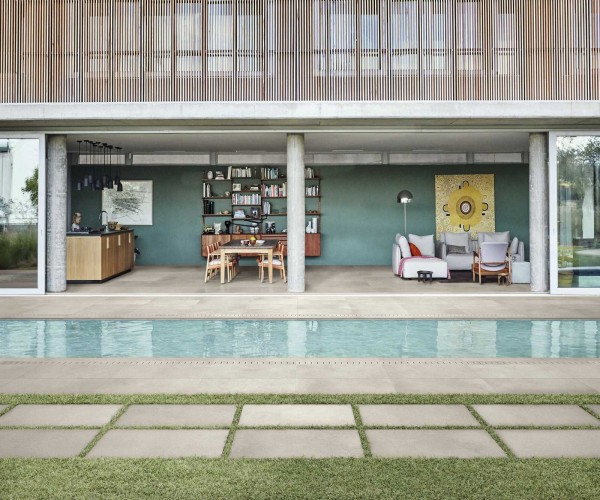 """Terrassenplatte Terrassenfliese Betonoptik beige 60x60x2cm """"Patch Home Touch"""" Ragno by Marazzi"""