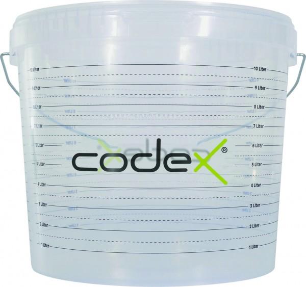 Anmisch-Eimer / Anrühr-Eimer 10 L mit Skala für richtiges Abmessen der Wassermenge