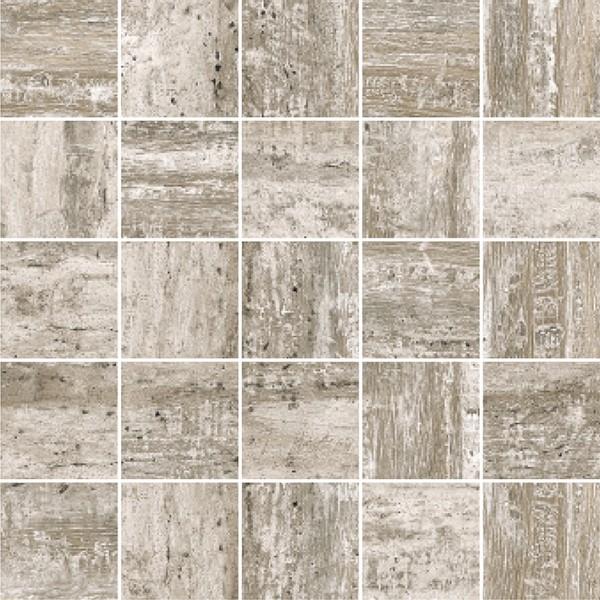 """Mosaik Vintage Holzoptik grau 30x30 """"Cortex grey"""""""