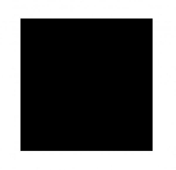 "Fliese Zement-Optik schwarz 20x20 ""Patchwork Black&White Black"" Sant Agostino"