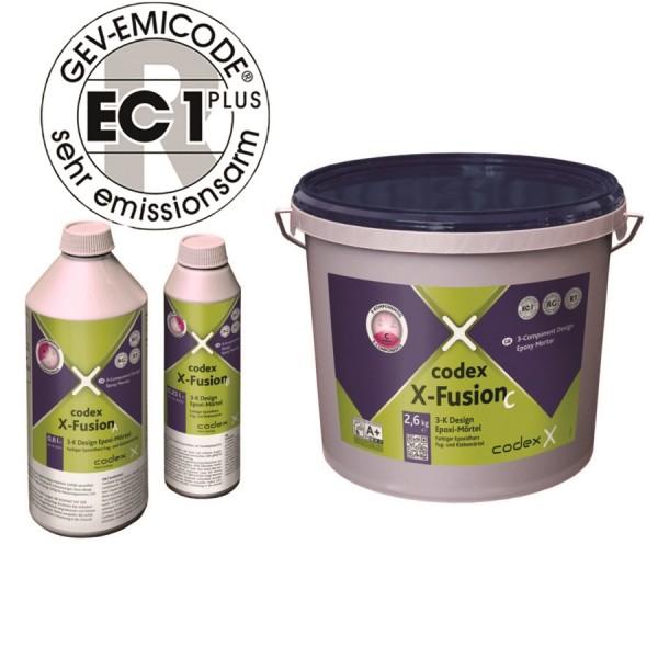 "Epoxidharz-Fugenmörtel achatgrau 3-Komponenten 3,5kg ""Codex X-Fusion"""