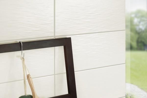 Fliesen Weiss Matt Strukturiert 20x50 Kerateam Y Per11 Laos Sole