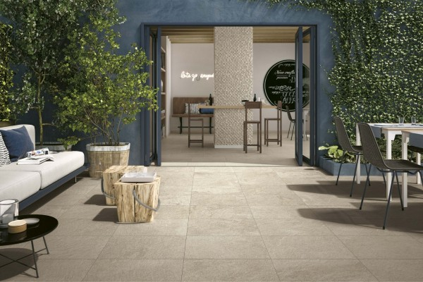 "Fliese Naturstein-Optik hell beige matt 30x60 ""Block Next Avorio AAG6"" Atlas Concorde"