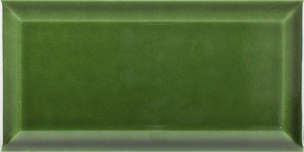 Metro Fliese dunkelgrün victorian green glänzend 10x20 Wandfliese Bad, Küche Facettenfliese Fabresa