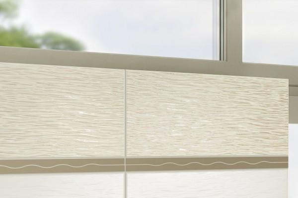 Fliesen Dekor weiß braun matt 20x50 Kerateam Laos Sole K-LAO1102