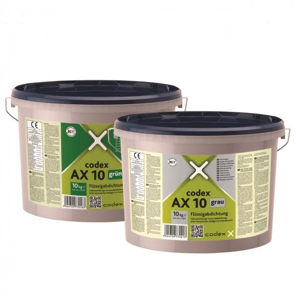 """Flüssigabdichtung gebrauchsfertig schnell trocknend in 2 Farben 4kg """"Codex AX10"""""""