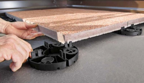 Stelzlager Terrassenplatten Höhe 15mm
