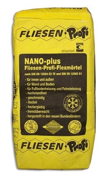 Flexfliesenkleber Nano-Plus 16kg günstig kaufen bei Fliesenprofi